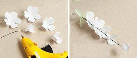 เทคนิคการทำช่อดอกไฮเดรนเยียเอง