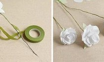 วิธีการทำช่อดอกไฮเดรนเยียทำเอง