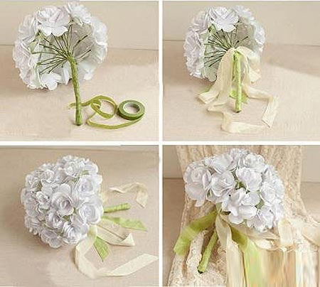 - Como hacer un ramo de flores artificiales ...