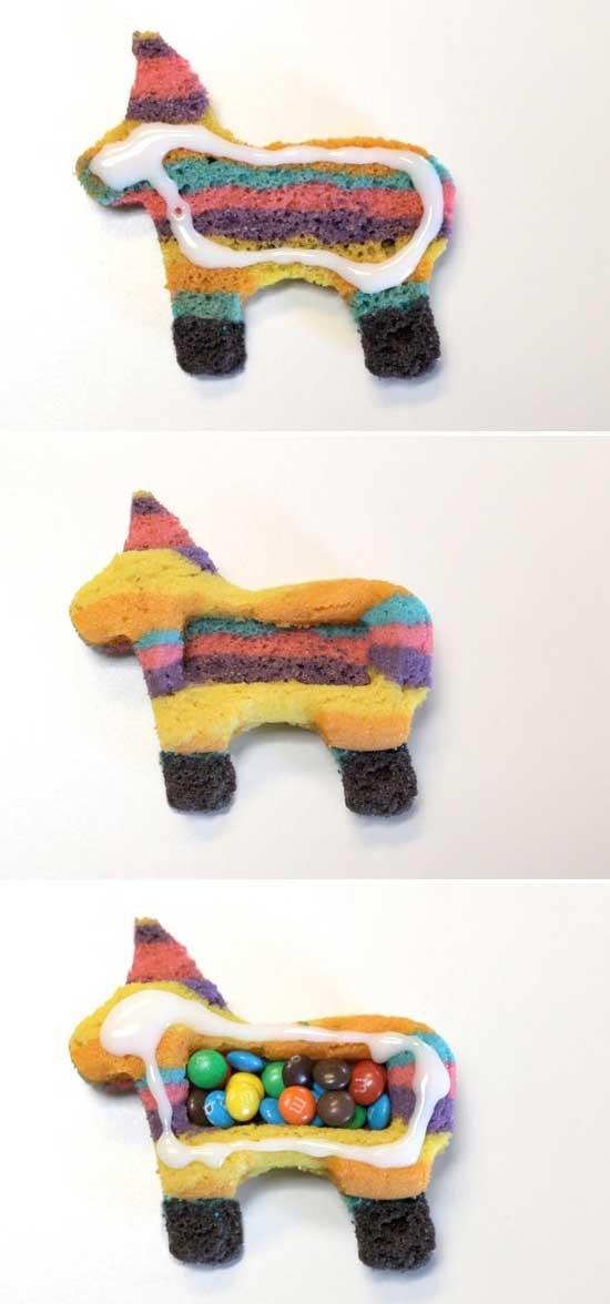 ขั้นตอนการทำคุ๊กกี้ทำเองรูปม้า
