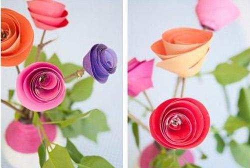 diy ดอกกุหลาบทำเองแบบง่าย