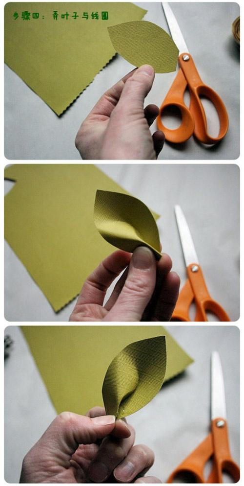 วิธีการทำดอกกุหลาบเองด้วยกระดาษสีแบบง่าย ๆ