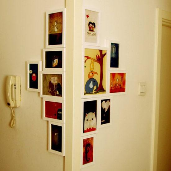 ไอเดียติดรูปถ่ายในบ้าน