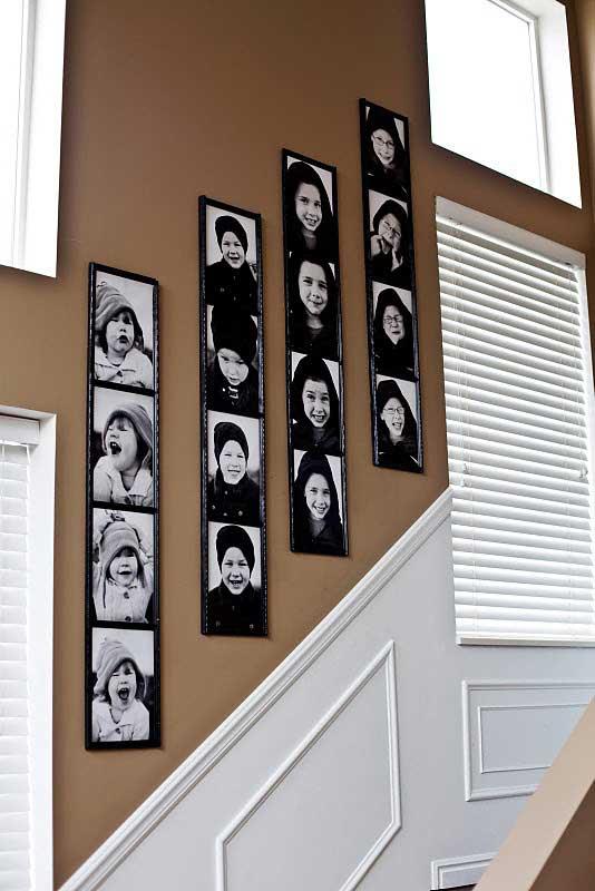 ตัวอย่างการติดรูปถ่ายในบ้านสวย ๆ