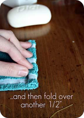 ห่มผ้าสบู่ก้อนขัดขี้ไคล