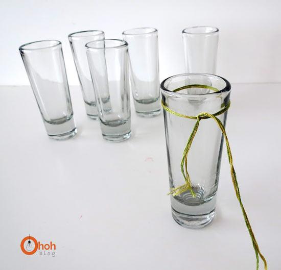 แจกันแก้วน้ำสวย ๆ