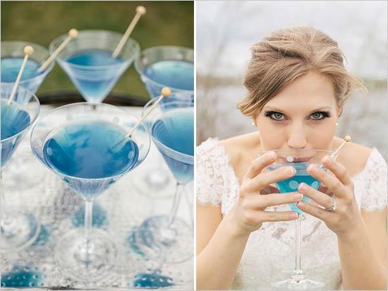 จัดงานแต่งงานโทนสีน้ำเงิน