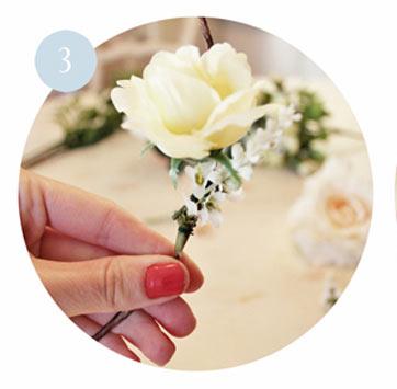 วิธีการทำมงกุฎดอกไม้