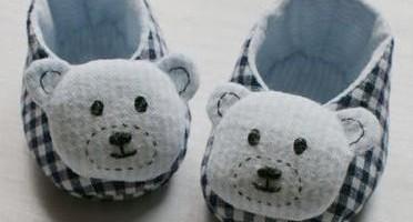 รองเท้าลูกทำเองน่ารัก
