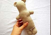 วิธีการทำตุ๊กตาหมี