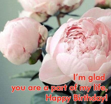 คำอวยพรวันเกิดแฟนภาษาอังกฤษ
