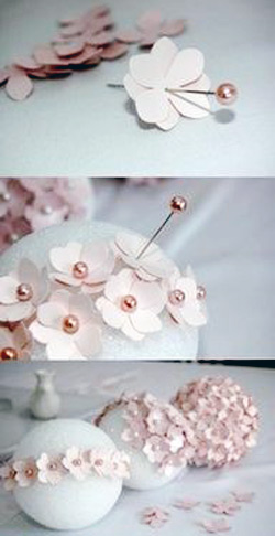 DIY ลูกบอลงานแต่งงาน
