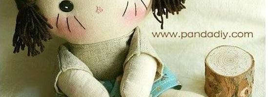 ตุ๊กตาเด็กผู้หญิงทำเอง